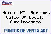 Motos AKT  Surtimax Calle 80 Bogotá Cundinamarca