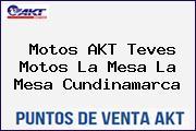 Motos AKT Teves Motos La Mesa La Mesa Cundinamarca