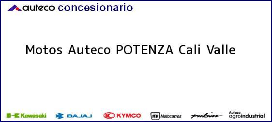 Teléfono, Dirección y otros datos de contacto para Motos Auteco POTENZA, Cali, Valle, Colombia