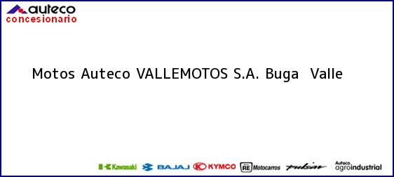 Teléfono, Dirección y otros datos de contacto para Motos Auteco VALLEMOTOS S.A., Buga , Valle , Colombia