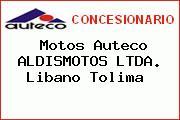 Motos Auteco ALDISMOTOS LTDA. Libano Tolima
