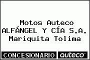 Motos Auteco ALFÁNGEL Y CÍA S.A. Mariquita Tolima