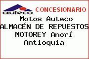 Motos Auteco ALMACÉN DE REPUESTOS MOTOREY Anorí Antioquia