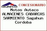 Motos Auteco ALMACENES CABARCAS SARMIENTO Sagahun Cordoba