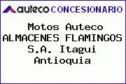 Motos Auteco ALMACENES FLAMINGOS S.A. Itagüi Antioquia