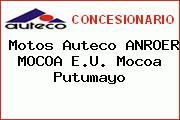 Motos Auteco ANROER MOCOA E.U. Mocoa Putumayo