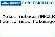 Motos Auteco ANROER Puerto Asis Putumayo