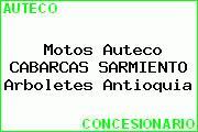 Motos Auteco CABARCAS SARMIENTO Arboletes Antioquia