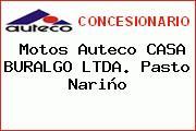 Motos Auteco CASA BURALGO LTDA. Pasto Nariño