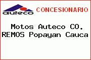 Motos Auteco CO. REMOS Popayan Cauca