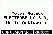 Motos Auteco ELECTROBELLO S.A. Bello Antioquia