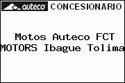 Motos Auteco FCT MOTORS Ibague Tolima