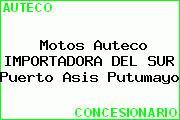 Motos Auteco IMPORTADORA DEL SUR Puerto Asis Putumayo