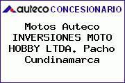 Motos Auteco  INVERSIONES MOTO HOBBY LTDA. Pacho Cundinamarca