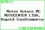 Motos Auteco MC MOTOCENTER LTDA. Bogotá Cundinamarca