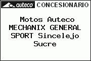 Motos Auteco MECHANIX GENERAL SPORT Sincelejo Sucre