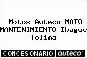 Motos Auteco MOTO MANTENIMIENTO Ibague Tolima