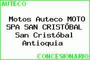 Motos Auteco MOTO SPA SAN CRISTÓBAL San Cristóbal Antioquia