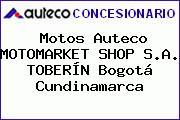 Motos Auteco MOTOMARKET SHOP S.A. TOBERÍN Bogotá Cundinamarca