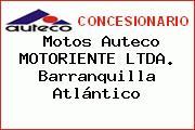 Motos Auteco MOTORIENTE LTDA. Barranquilla Atlántico