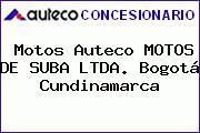 Motos Auteco MOTOS DE SUBA LTDA. Bogotá Cundinamarca