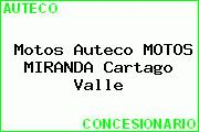 Motos Auteco MOTOS MIRANDA Cartago Valle