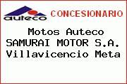Motos Auteco SAMURAI MOTOR S.A. Villavicencio Meta