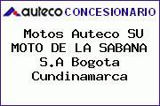 Motos Auteco SU MOTO DE LA SABANA S.A Bogota Cundinamarca