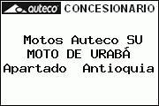 Motos Auteco SU MOTO DE URABÁ Apartado  Antioquia