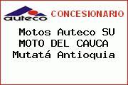 Motos Auteco SU MOTO DEL CAUCA Mutatá Antioquia