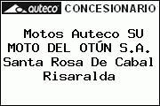 Motos Auteco SU MOTO DEL OTÚN S.A. Santa Rosa De Cabal Risaralda