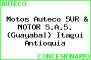 Motos Auteco SUR & MOTOR S.A.S. (Guayabal) Itagui Antioquia