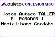 Motos Auteco TALLER EL PARADOR 1 Montelibano Cordoba