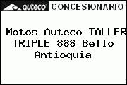 Motos Auteco TALLER TRIPLE 888 Bello Antioquia