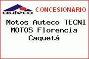 Motos Auteco TECNI MOTOS Florencia Caquetá