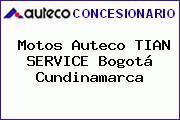 Motos Auteco TIAN SERVICE Bogotá Cundinamarca