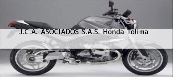Teléfono, Dirección y otros datos de contacto para J.C.A. ASOCIADOS S.A.S., Honda, Tolima, Colombia
