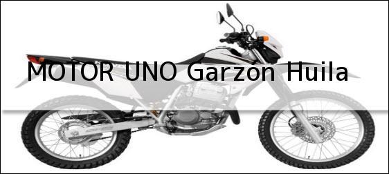 Teléfono, Dirección y otros datos de contacto para MOTOR UNO, Garzón, Huila, Colombia