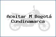 Aceitar M Bogotá Cundinamarca
