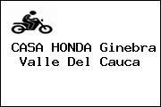 CASA HONDA Ginebra Valle Del Cauca