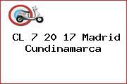 CL 7 20 17 Madrid Cundinamarca