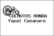 COLMOTOS HONDA Yopal Casanare