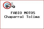 FABIO MOTOS Chaparral Tolima