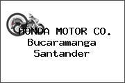 HONDA MOTOR CO. Bucaramanga Santander