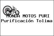 HONDA MOTOS PURI Purificación Tolima