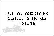 J.C.A. ASOCIADOS S.A.S. 2 Honda Tolima