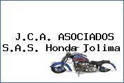 J.C.A. ASOCIADOS S.A.S. Honda Tolima