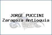 JORGE PUCCINI Zaragoza Antioquia