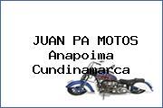 JUAN PA MOTOS Anapoima Cundinamarca