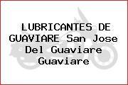 LUBRICANTES DE GUAVIARE San Jose Del Guaviare Guaviare